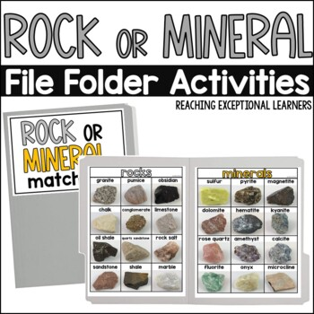 SPED File Folders: Rock or Mineral