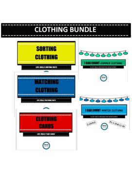 SPED LIFE SKILLS- CLOTHING BUNDLE