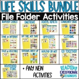 Life Skills File Folder BUNDLE for Special Education