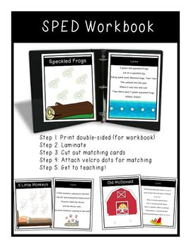 SPED  *Music Room*  Workbook