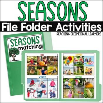 SPED Science: Seasons File Folder Activities
