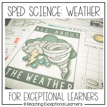 SPED Science: Weather