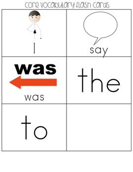SPED Strips Set 5 {Fluency Strips for SPED} Core Vocabulary Sentence Strips AAC