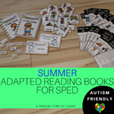 Adapted Books Reading level 1 Summer