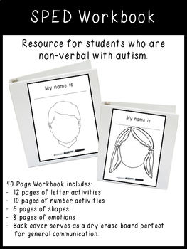 SPED Workbook K-2 (Made to Order)