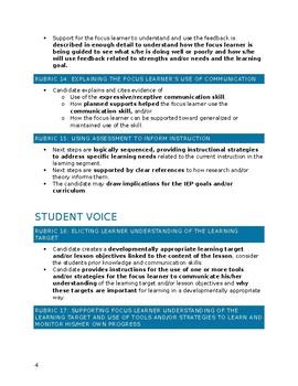 SPED edTPA Checklist