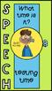 SPEECH CLOCK SPEECH ROOM DECOR  Speech Therapy