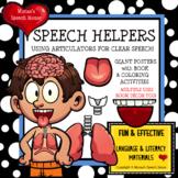 Better Speech and Hearing Month SPEECH HELPERS Room Decor Poster BHSM
