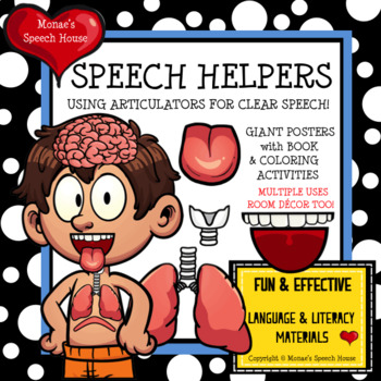 SPEECH HELPERS POSTER Speech Therapy