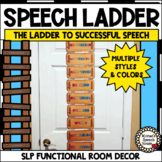 SPEECH LADDER Speech Therapy Speech Room Decor