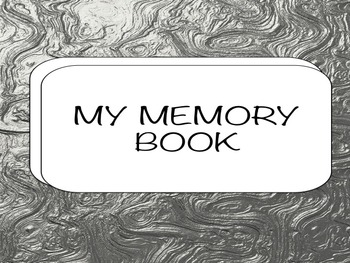 SPEECH/LANGUAGE - MEMORY BOOK