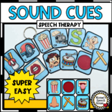SPEECH SOUND PICTURE CUES ARTICULATION APRAXIA SPEECH THERAPY
