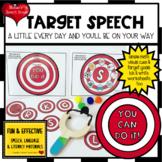 SPEECH TARGETS ARTICULATION  worksheets LOW PREP NO PREP