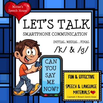 SPEECH THERAPY ARTICULATION PHONOLOGY /k/ & /g/