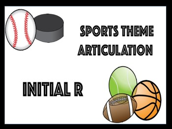 SPEECH THERAPY ARTICULATION SPORTS