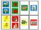 SPEECH THERAPY CANDY LAND PICTURE CARDS for PREPOSITIONS IN FRONT OF & BEHIND