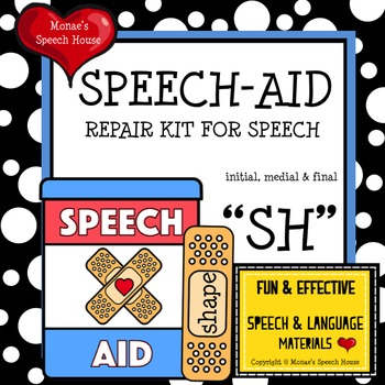 SPEECH THERAPY FUN  /sh/ worksheets