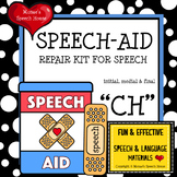 SPEECH THERAPY FUN  /ch/ worksheets