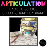 SPEECH THERAPY:  NO PREP Back-to-School Bus Articulation H