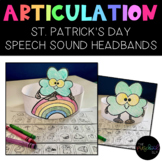 SPEECH THERAPY:  NO PREP Shamrock and Rainbow Articulation