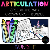 SPEECH THERAPY:  NO PREP Theme Articulation Headbands BUND