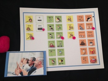 SPEECH THERAPY PICTURE PERFECT GRAMMAR his/her/their possessive pronoun