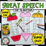 YEAR-ROUND NO PREP worksheets SPEECH articulation EASY CRAFT