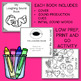 SPEECH THERAPY: /h, y, w/ Articulation Coloring Flip Books w/ Speech Sound Cues