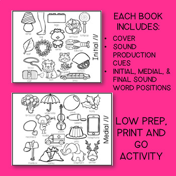 SPEECH THERAPY: /l/ Articulation Coloring Flip Book w/ Speech Sound Cues