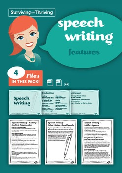 SPEECH WRITING- Features
