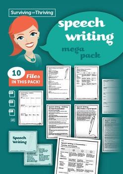 SPEECH WRITING - Mega Pack