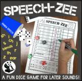 SPEECH-ZEE An Articulation Dice Game
