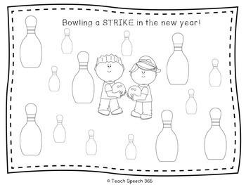 SPEECH in the New Year [FREEBIE]