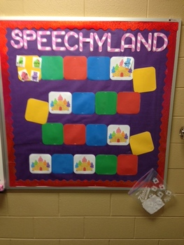 SPEECHYLAND: Bulletin Board and Reinforcement System