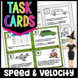 Speed and Velocity Task Cards | Science Task Cards