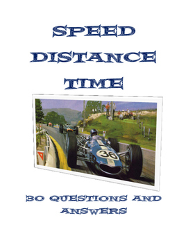 SPEED DISTANCE TIME 30 GRADED QUESTIONS AND ANSWERS