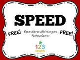 SPEED! Integer Operations Review Game