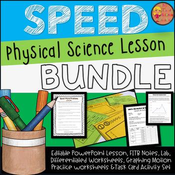 SPEED Lesson Plan Bundle