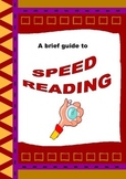 FREEBIE: Speed Reading Worksheets: simple skills to increa