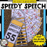 SPEEDY SPEECH  ARTICULATION THERAPY phonology