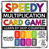 SPEEDY! The Multiplication Card Game 2-9 - BUNDLE - Skip C