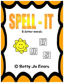 SPELL-IT: 3-Letter Words