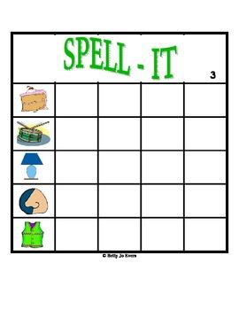 SPELL-IT: 4-Letter Words