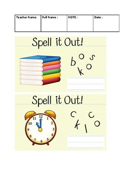 SPELL IT OUT