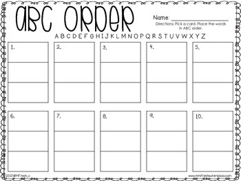 Journeys SPELL IT OUT! #4 SHORT e Printables & Center Activities