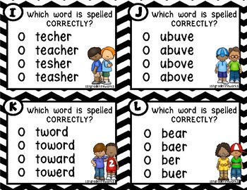 SPELL IT!   Sight Word Edition