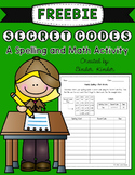 Spelling & Math Activity {Freebie}