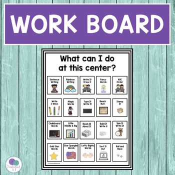 SPELLING CENTERS with 10 Differentiated Activities and Word Cards for 30 Lessons