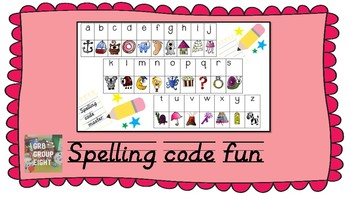 SPELLING CODE for Junior Years. Most used 2 3 and 4 letter words.