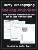 32 Engaging Spelling Activities